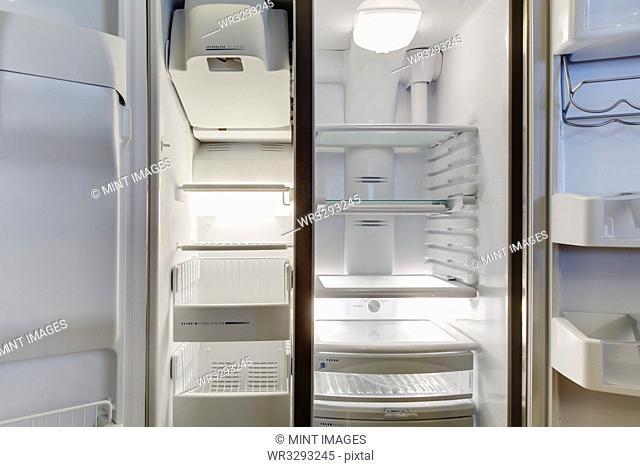 Refrigerator Interior