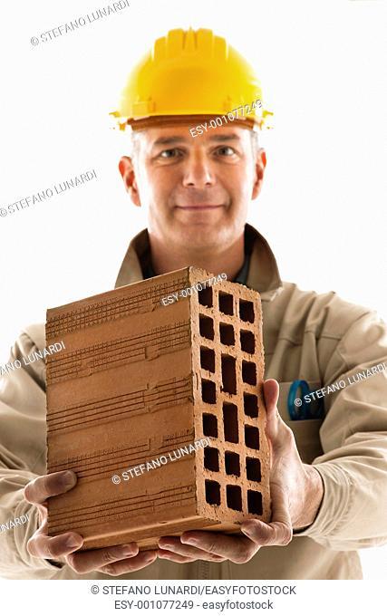 Portrait of a construction worker