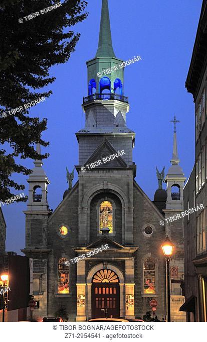 Canada, Quebec, Montreal, Notre-Dame-de-Bon-Secours Chapel,