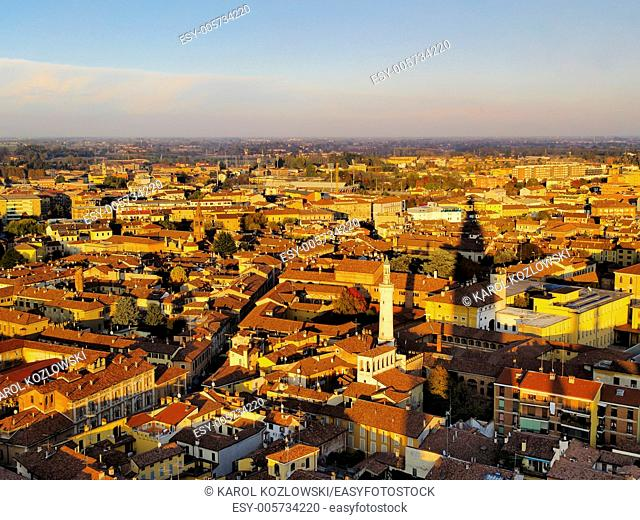 Italian city of Cremona in a province of Lombardy