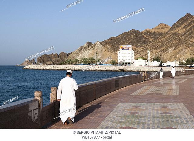 Mutrah, Muscat, Oman