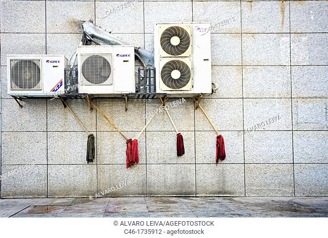 Air conditionings, Yangtze River, China