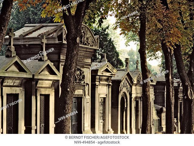 Cemetery Père Lachaise. Paris. France