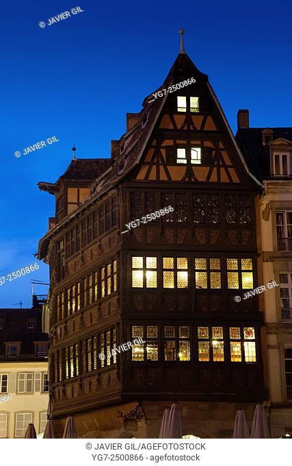 Maison Kammerzell, Strasbourg, Bas-Rhin, Alsace, France