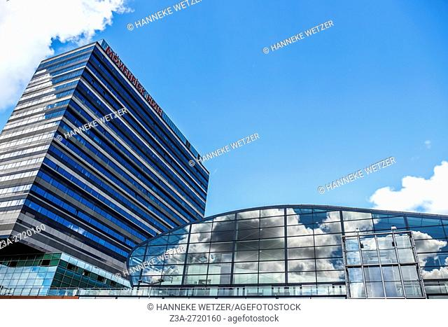 Modern architecture of Amsterdam, Holland, Europe