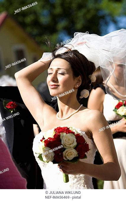 A bride Sweden