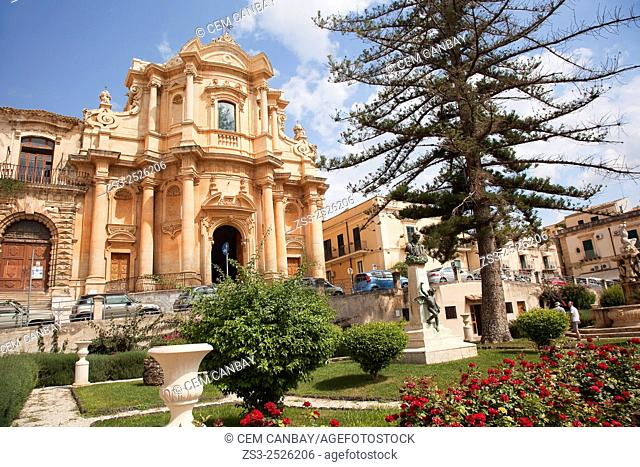 Chiesa di SanDomenico, San Domenico church, Noto, Sicily, Italy, Europe