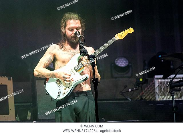 Biffy Clyro and Rob Zombie headlining at Download Festival 2017 Featuring: Biffy Clyro Where: Donnington, Derbyshire, United Kingdom When: 10 Jun 2017 Credit:...