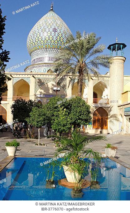 Shah Cheraq Mausoleum, Shiraz, Fars Province, Persia, Iran