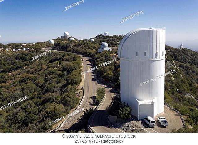 Telescopes on Kitt Peak National Observatory, Arizona