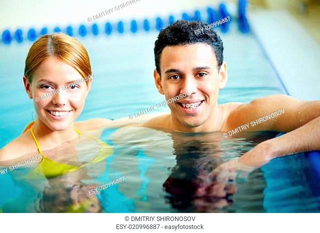 Couple of swimmers