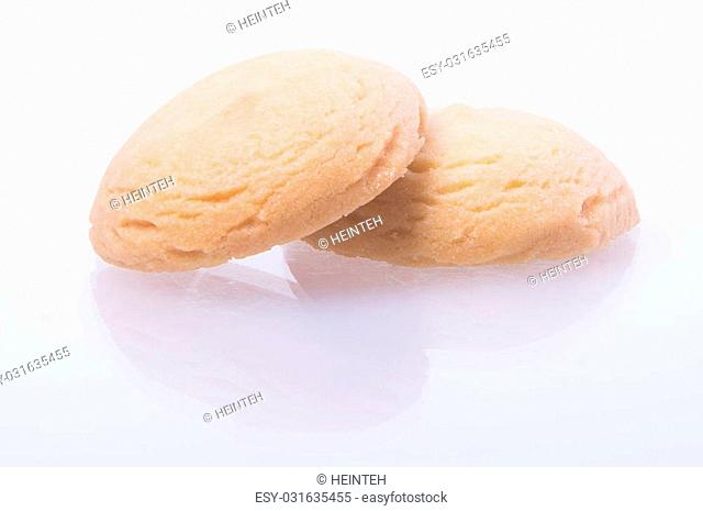cookies or butter cookies on a background