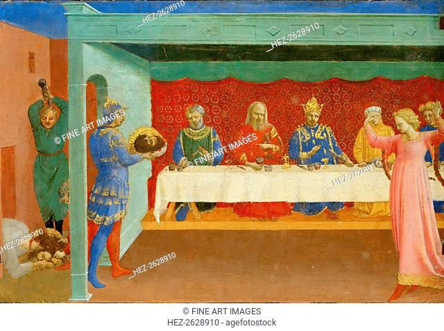 The Feast of Herod and the Beheading of Saint John the Baptist, ca 1430. Artist: Angelico, Fra Giovanni, da Fiesole (ca. 1400-1455)