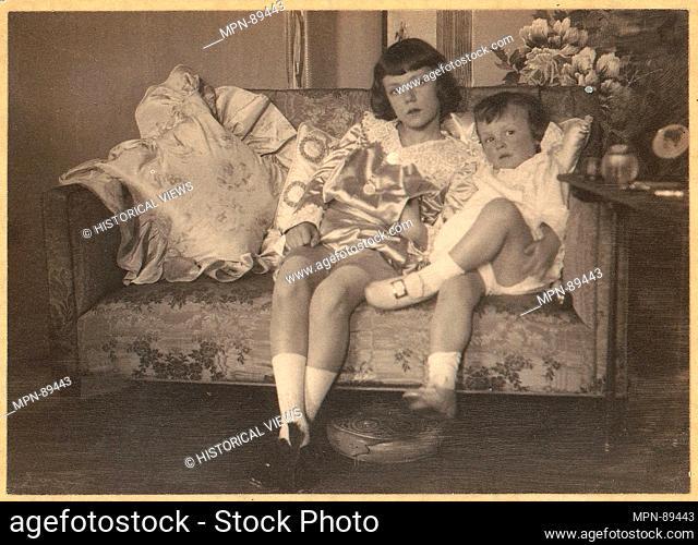 H.R.H. Prince Leopold and Prince Johann Albrecht of Bavaria. Artist: Frank Eugene (American, New York 1865-1936 Munich); Date: 1900-1908; Medium: Platinum...