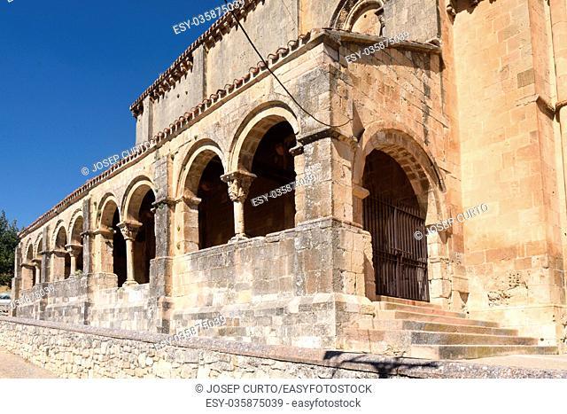 Cobered of el Salvador church,Sepulveda, Segovia province, Castilla-Leon, Spain