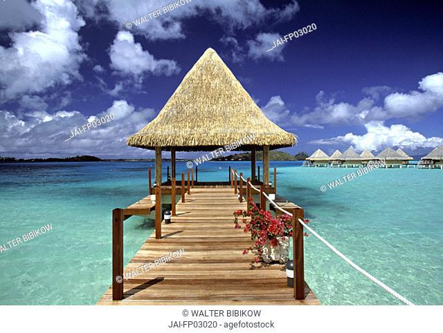 Matira Point, Bora Bora, French Polynesia