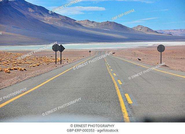 road, 2015, Atacama, Chile