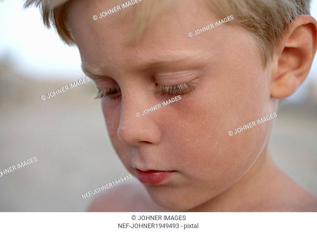 Boy looking away, Greece