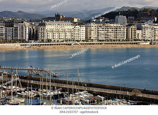 Port of San Sebastian (aka Donostia), Guipuzcoa, Basque Country, Spain
