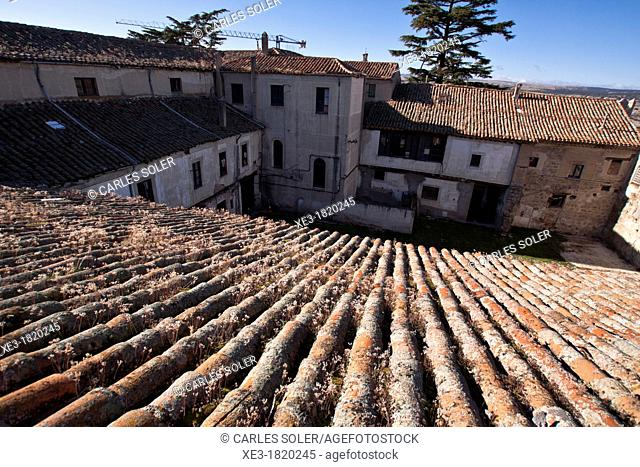 Rooftops within the walls, Avila, Spain