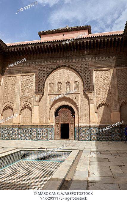Africa, Morocco, marrakech madraza