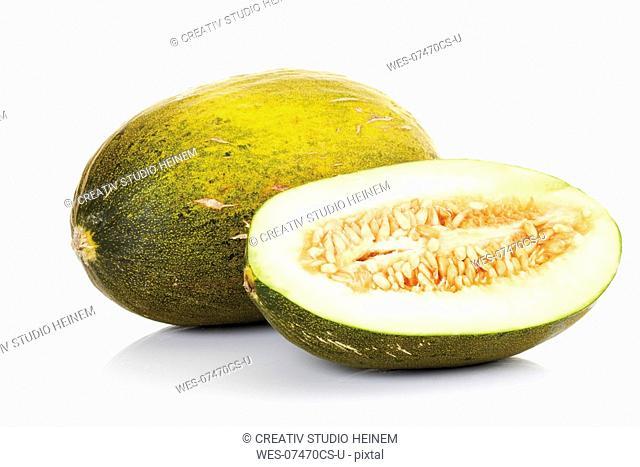 Futuro melons, close-up