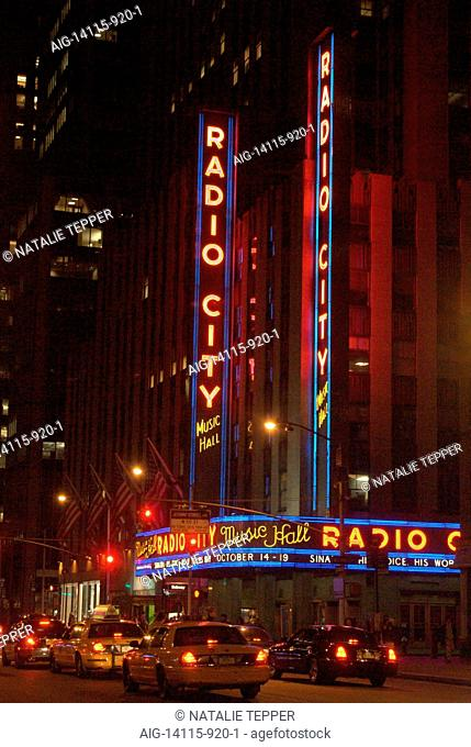 Radio City Music Hall, New York City, New York, USA