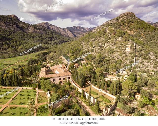 Raixa, possession of Arab origin, Bunyola municipality, Mallorca, Balearic Islands, Spain