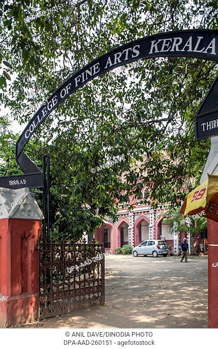 College of Fine Arts, Trivandrum, kerala, India, Asia