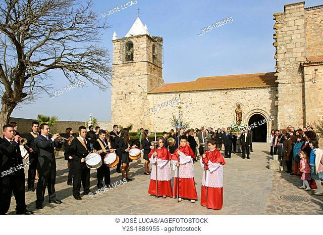 Festivities of Santiago Apostol, Valdetorres, Badajoz-province, Spain