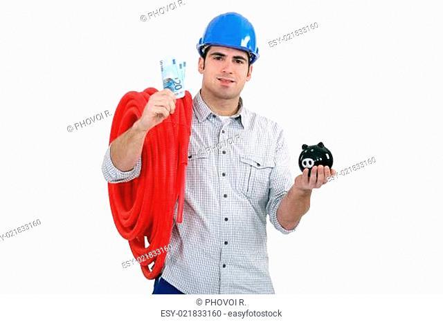 A plumber and his savings
