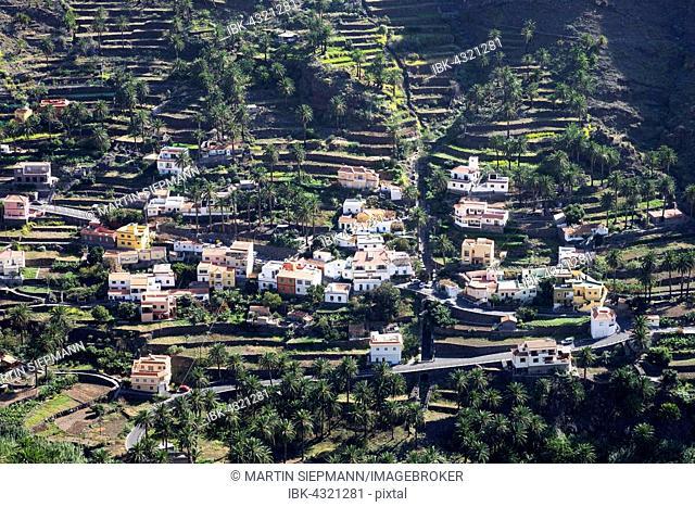 Chele, Valle Gran Rey, La Gomera, Canary Islands, Spain