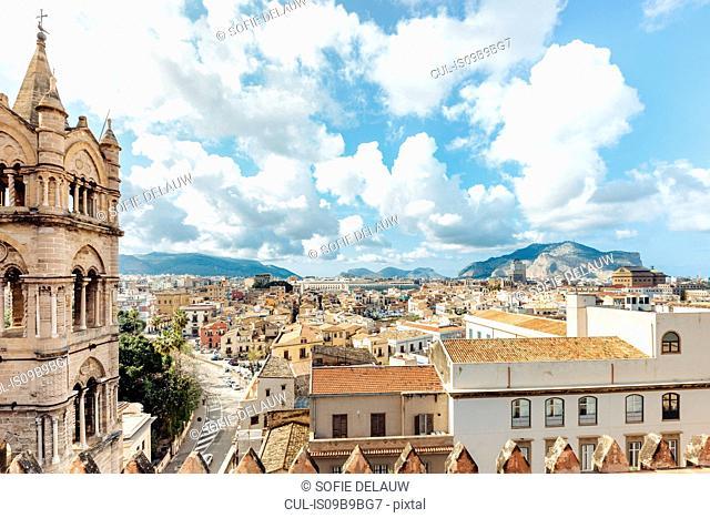 Cityscape, Palermo, Sicily, Italy, Europe