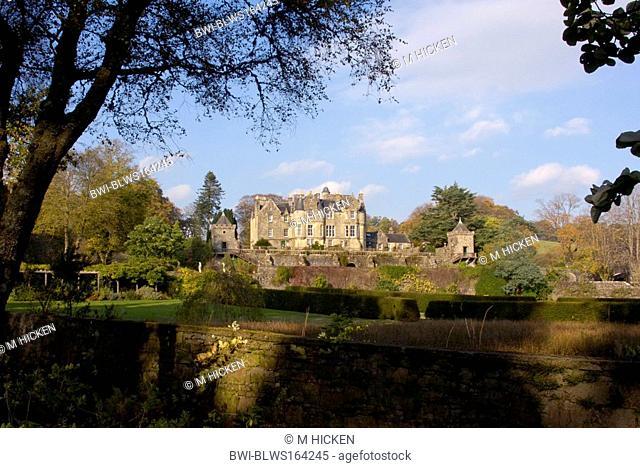 Torosay castle, United Kingdom, Scotland, Isle of Mull, Craignure