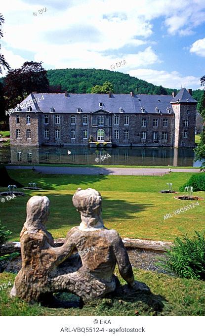 Belgium,Annevoie castle