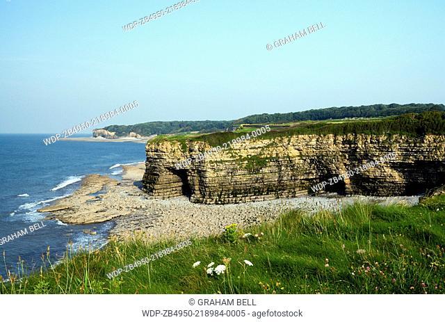 Tresilian Bay, Glamorgan Heritage Coast, Vale of Glamorgan, South Wales, UK