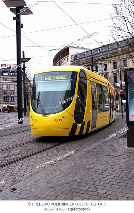 Tranway in Mulhouse. France