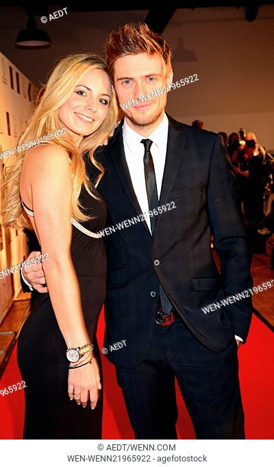 SMAGO Award 2014 at Best Western Hotel Moa in Moabit Featuring: Joern Schloenvoigt,girlfriend Syra Feiser Where: Berlin, Germany When: 26 Nov 2014 Credit:...