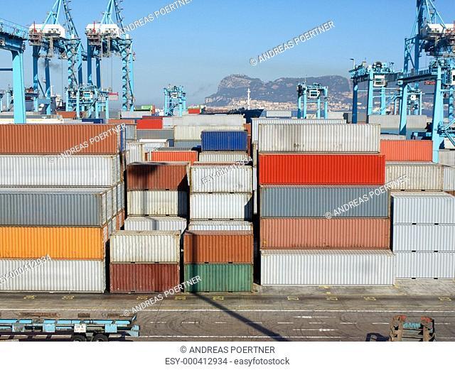Hafen von Algeciras, Spanien