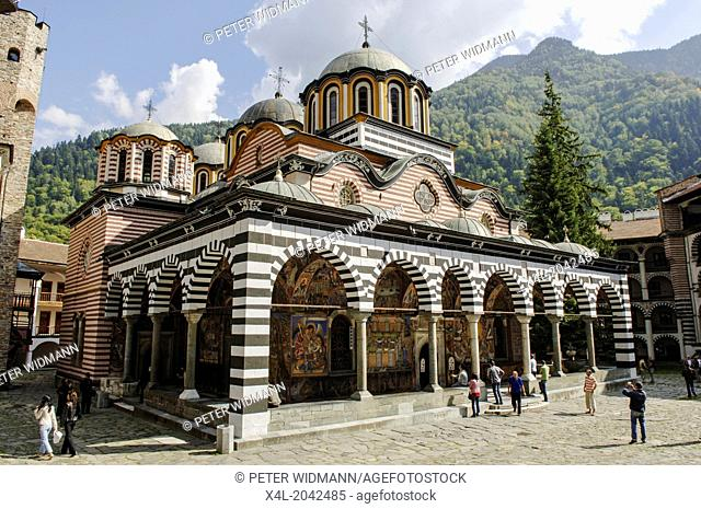 Rila monastery, Bulgaria, Rila Mountains, Rila