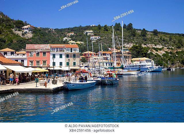 Gaios, Paxos island, Greece