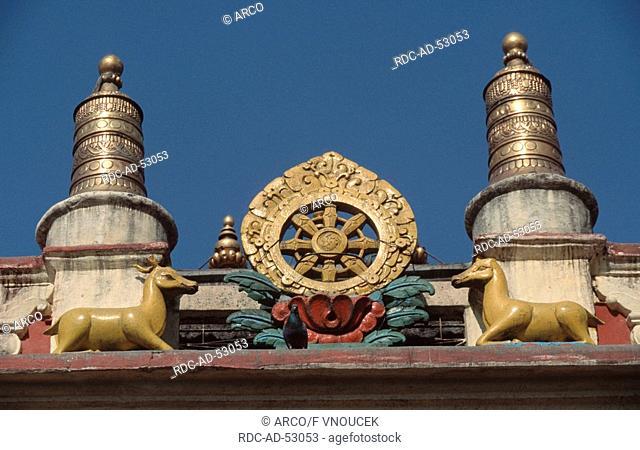 Boudha temple Kathmandu-Valley Nepal