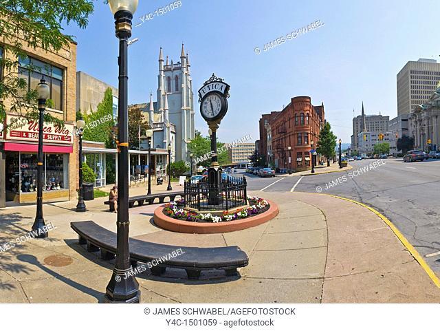 Genesee Street in downtown Utica New York
