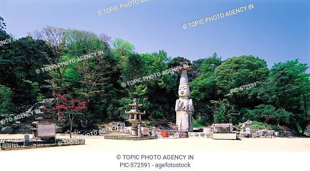 Gwanchoksa Temple,Chungnam,Korea