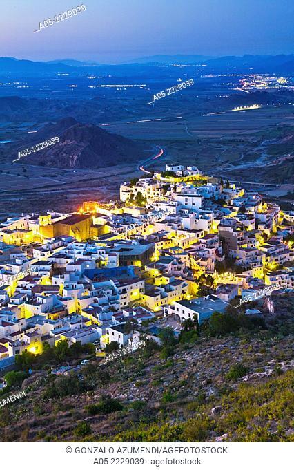 Mojacar, Almeria province, Andalucia, Spain
