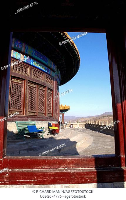 China, Hebei Chengde, summer residence of the Manchu Emperors of the early Qing Dynasty, Pule Temple, the temple of universal joy built in 1766