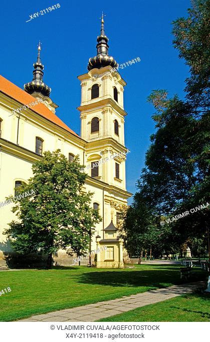 Baroque cathedral dedicated to Lady of Seven Sorrows, Sastin - Straze, Slovakia