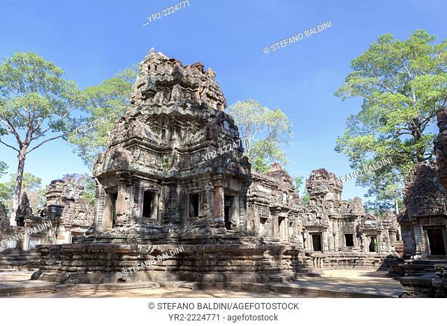 Thommanon temple, Angkor, Siem Reap, Cambodia