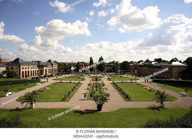 Schloßpark, Parterre vor der Orangerie