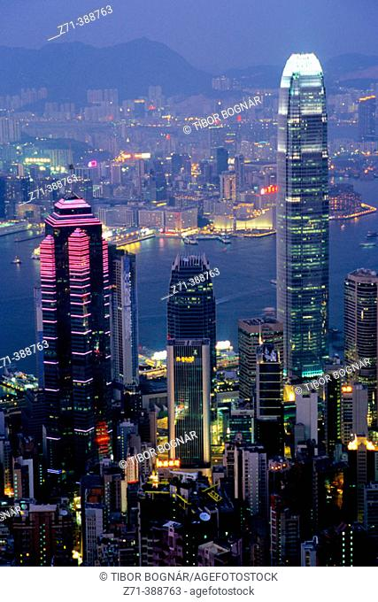 Financial centre. Hong Kong. China